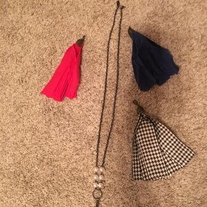 Plunder necklace with 3 attachments (new)